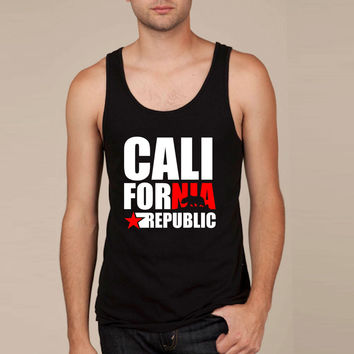 CALIFORNIA REPUBLIC (2) Tank Top