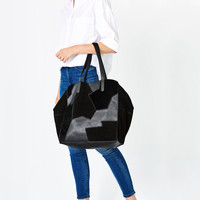 PATCHWORK TOTE - NEW IN-WOMAN | ZARA United Kingdom