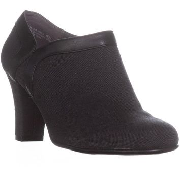 Aerosoles Day Strole Zip Up Ankle Booties, Grey , 9 US