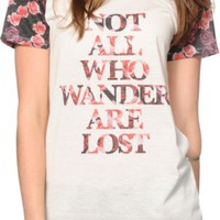 Empyre Menace Not All Wander Are Lost T-Shirt