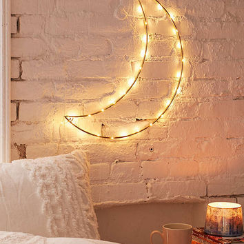 Geo Moon Light Sculpture | Urban Outfitters