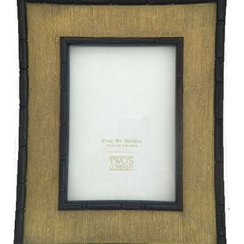 Bamboo Weave Tabletop Photo Frame