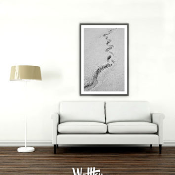 Abstract wall art, Landscape Photography, Volcano View, Large Wall Art, Black and White Print, Original Abstract, Huge Art, INSTANT DOWNLOAD