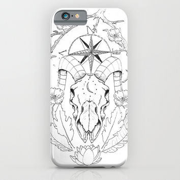 Ever Which Way iPhone & iPod Case by Traci Maturo Illustrations