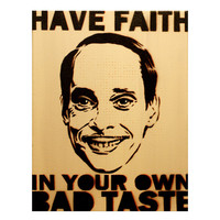 JOHN WATERS PORTRAIT 11 x 14 Graffiti and Pop Art Inspired Original Painting on Canvas