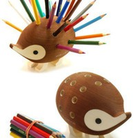 Things That Look Like Other Things - Pencil Holder That Looks Like A Porcupine