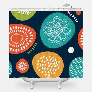 Funny Abstract Shower Curtain