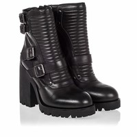 Ash Peace Womens Boot Black Leather 340495 (001)