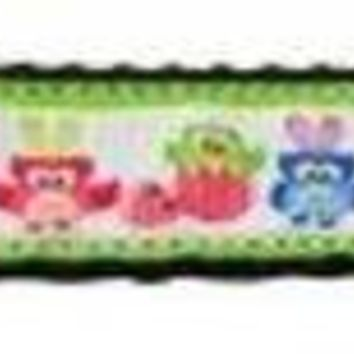 CUPUPHA Easter Birdies Nylon Ribbon Dog Collars 1 wide 4ft Leash