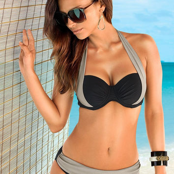 Ladies Stylish Bikini Spring Summer Swimsuits Push Up Like Swimwear Designer Bathing Suit Beach Wear = 4641966980