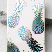 Sonix Liana Pick Me Up Teal Pineapple Print Portable Charger