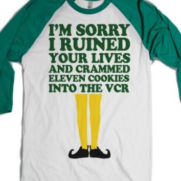I'm Sorry I Ruined Your Lives (Buddy Elf Baseball Shirt) |