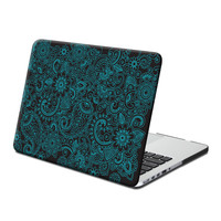 Hard Case Print Frosted (Paisley Pattern) for 13 Macbook Pro with Retina Display