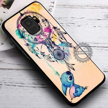 Dream Catcher and Stitch Disney iPhone X 8 7 Plus 6s Cases Samsung Galaxy S9 S8 Plus S7 edge NOTE 8 Covers #SamsungS9 #iphoneX