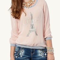 Chiffon Raglan Top | Cozy Casual | rue21