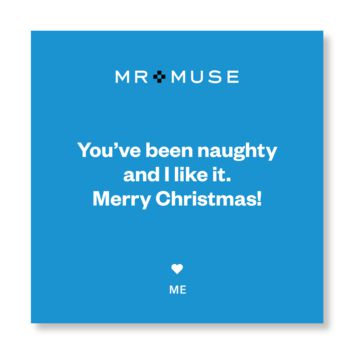 Gift Note, Tissue & Gift Box | You've Been Naughty and I Like It