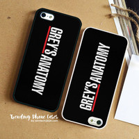 Greys Anatomy Logo  iPhone Case Cover for iPhone 6 6 Plus 5s 5 5c 4s 4 Case