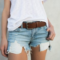 Lodi Frayed Cut Off Shorts