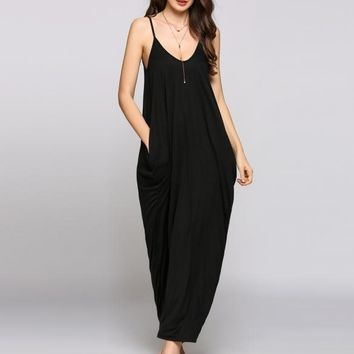 Follow My Flow Loose Fit Maxi Dress - 3 Colors Available!