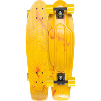 Penny Marble Nickel Skateboard Yellow/Red One Size For Men 22541464701