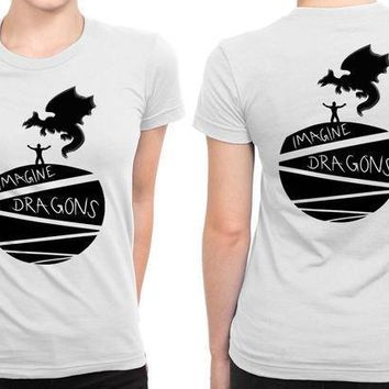 Imagine Dragons People With Dragons B 2 Sided Womens T Shirt