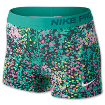 1e857424d Women's Nike 3 Inch Pro Core Compression Printed Shorts