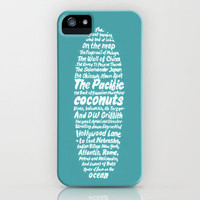 Kerouac surfer iPhone Case by Antilope | Society6