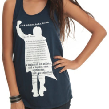 The Breakfast Club Bender Silhouette Girls Tank Top