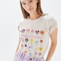 Language Of Flowers Chart Tee | Urban Outfitters