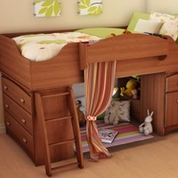 Amazon.com: South Shore Loft Bed Imagine Collection