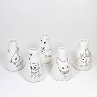 Illustrated Vases