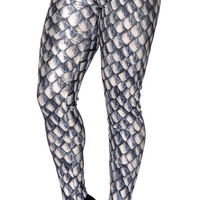Green Dragon Scales Leggings Design 621