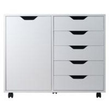 Winsome Wood 10630 Halifax Cabinet White  Finish