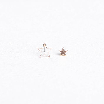 Star Stud Earring Set