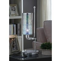Gwen Table Lamp, Chrome