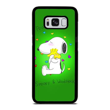 PEANUTS SNOOPY AND WOODSTOCK Samsung Galaxy S8 Case