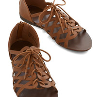 ModCloth Boho Always Looped In Sandal