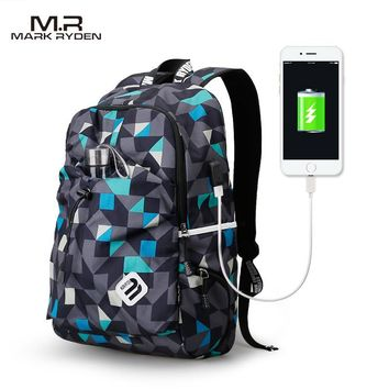 Water Resistant Nylon Backpack