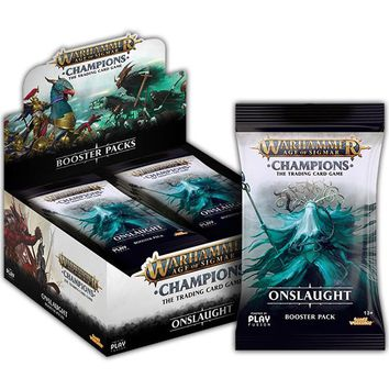 Warhammer Age of Sigmar Champions TCG: Onslaught Booster Display (24 Packs)
