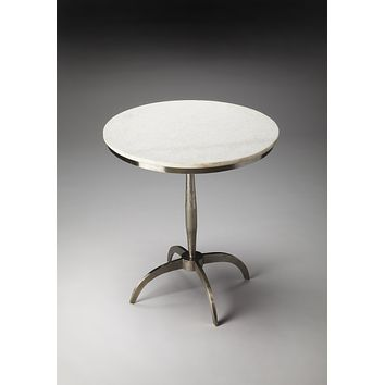 Iron and Marble Accent Table by Butler Specialty Company 2868140