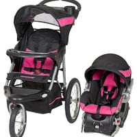 Baby Trend Expedition Travel System Stroller w Infant Car Seat & Base