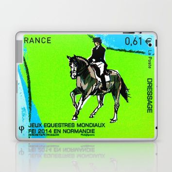 2014 FEI World Equestrian Games in Normandy DRESSAGE Laptop & iPad Skin by lanjee