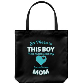 This Boy Stole My Heart - Tote Bag