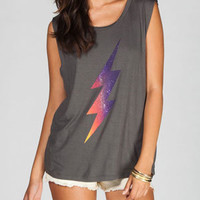 LORDS OF LIVERPOOL Bolt Womens Muscle Tee 221410110 | Graphic Tees & Tanks | Tillys.com
