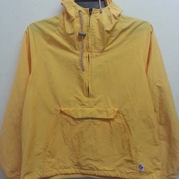 Sale Vintage Columbia Tecnicloth Windbreaker Pull Over Hip Hop Jacket
