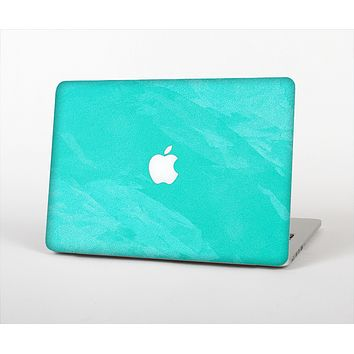 The Subtle Neon Turquoise Surface Skin Set for the Apple MacBook Air 11""