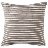 "Threshold™ Pleated Toss Pillow - Gray (18x18"")"
