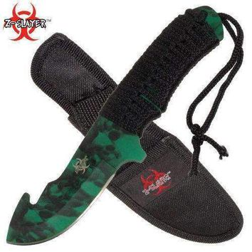 SALE Full Tang ZOMBIE Slayer Gut Hook Knife RDX9700GSCA