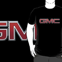 Gmc Custom Black T-shirt