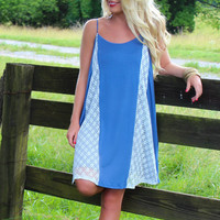 Baby Blues Jersey Dress